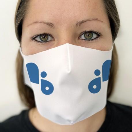 Masque en tissu imprimé personnalisé