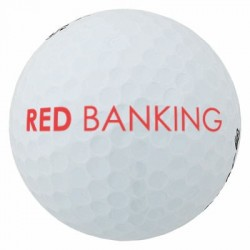 Balle de golf publicitaire