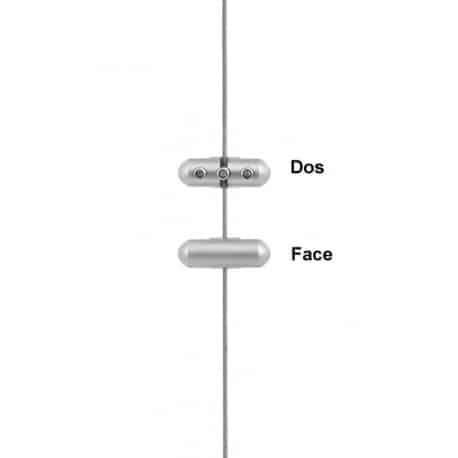 Pince double recto/verso porte pochette