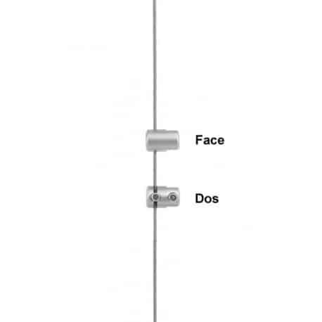Pince simple pour câbles tendu porte affiche agence immobiliere