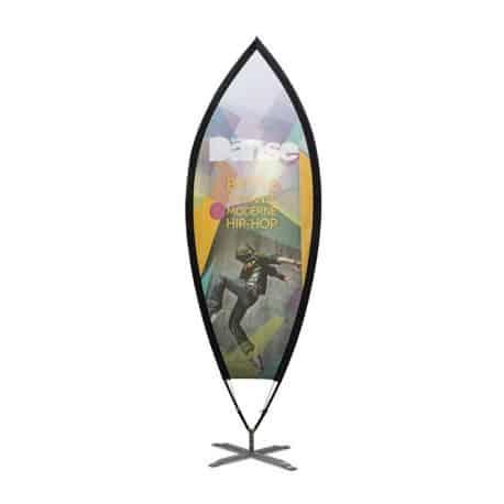 Drapeaux géant plume