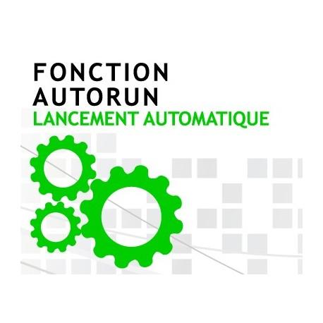 Fonction Autorun Clé USB Publicitaire