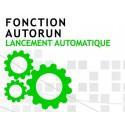 Fonction Autorun