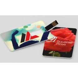 """Clé USB format carte """"Color Card"""""""