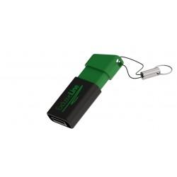 Clé USB publicitaire rétractable Flow avec marquage logo