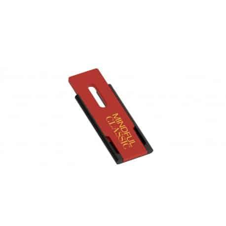 Clé USB publicitaire rétractable Skim avec impression logo recto/verso