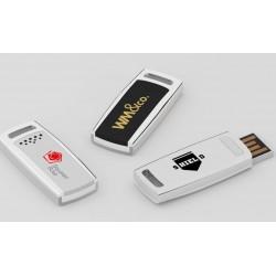 Clé USB promotionnelle en aluminium slider Z-drive marquage logo