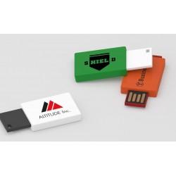 Clé USB promotionnelle Clic Clac marquage logo entreprise