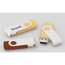 Clé USB bois Twister Wood