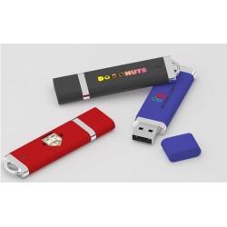 """Clé USB douce (caoutchouc) ou lisse """"Stiff"""""""