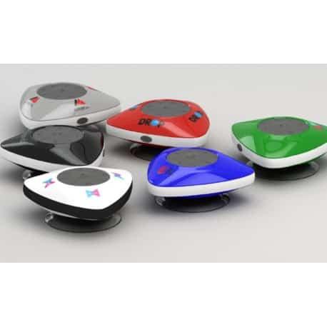 Haut-parleur publicitaire Bluetooth étanche Aqua cadeau client personnalisé