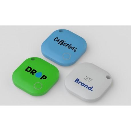 Objet publicitaire innovant porte clé localisateur de clés via smartphone Tracker Bluetooth Square pour Clés
