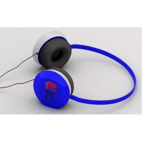 Casque audio Head avec marquage logo pour cadeau client