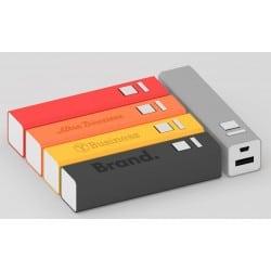 Batterie externe publicitaire pour téléphone avec marquage logo pas cher