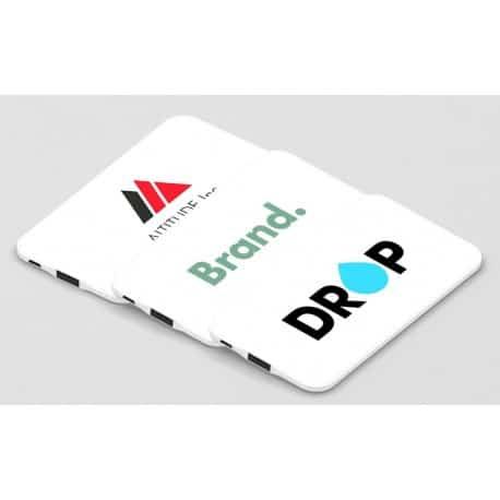 batterie de secours externe publicitaire blanche impression numérique fabrication urgente livraison rapide express