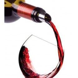 """Anti-gouttes publicitaire """"Dropstop®"""" pour bouteille de vin"""