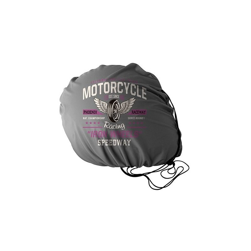 sac casque de moto microfibre publicitaire objet publicitaire moto. Black Bedroom Furniture Sets. Home Design Ideas