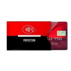 Etui protège carte bancaire anti-RFID publicitaire
