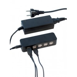 Chargeur USB multiple pour 10 menus lumineux LED