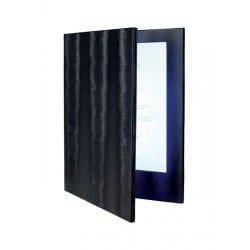 Menu LED A4 double face noir pour carte cocktail bar, restaurant, boissons club discothèque