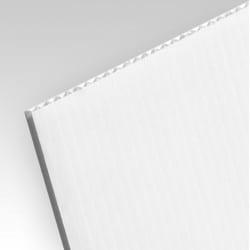Impression quadri sur PVC alvéolaire