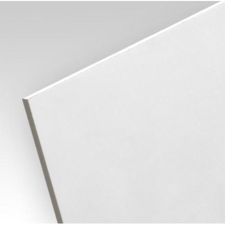 Impression quadri sur PVC plein blanc (Forex)