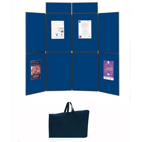 Stand expo pliable et portable 6 panneaux