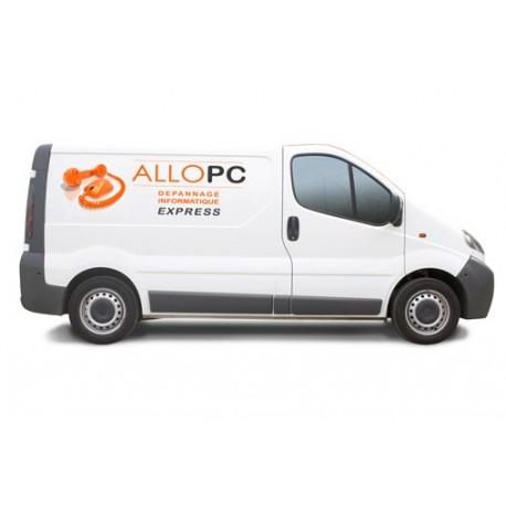 Adhésif durable polymère tout support : mur, véhicule, PLV, signalétique, enseigne...