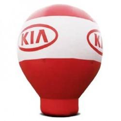 Ballon publicitaire gonflable