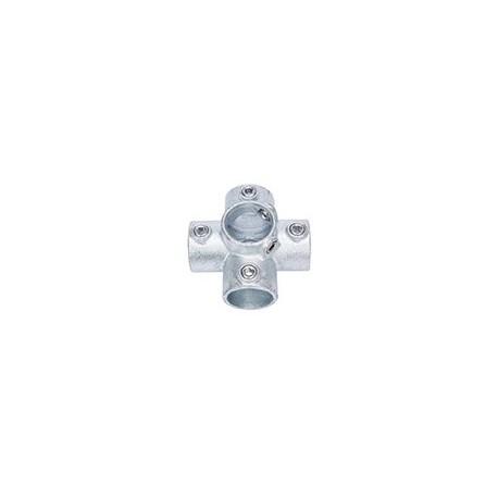 Connecteur Tube Croix 3D (A26)