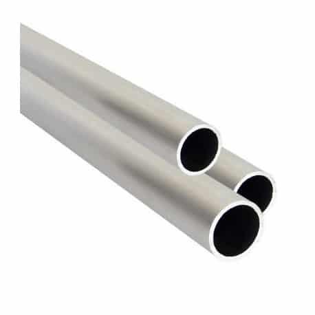 Tube en aluminium pour les cadres muraux
