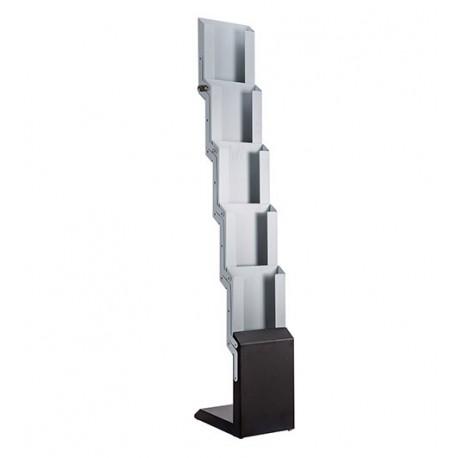 Porte-brochures métallique design
