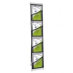 Porte-brochures simple en tissu