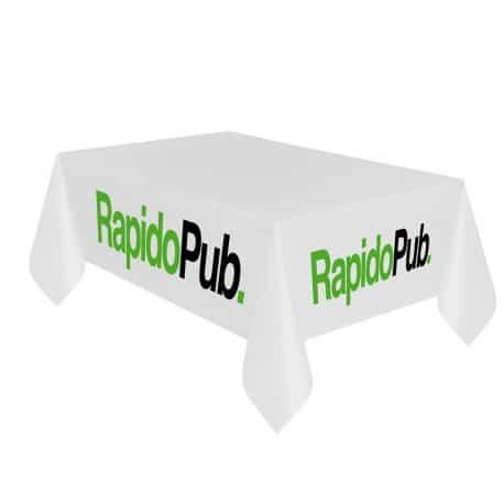Nappe publicitaire marquage logo