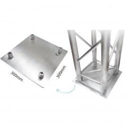 """Base pour colonnes en aluminium """"Truss"""""""