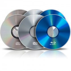 Pressage de CD / DVD / Blu-Ray (1000 exemplaires)