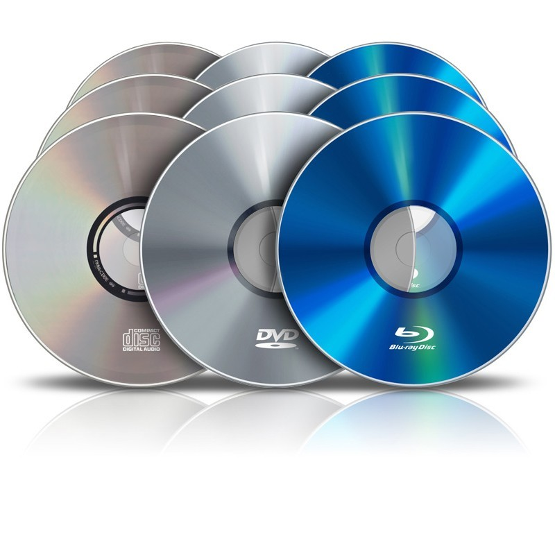 Pressage De Cd Dvd Blu Ray Par 2000