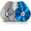 Pressage de CD/DVD/Blu-Ray (5000 ex.)