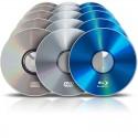 Pressage de CD/DVD/Blu-Ray (10000 ex.)