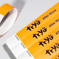 Bracelet Tyvek (2,5cm) pour les contrôles lors des festivals