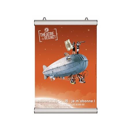 Porte-affiches cadro-clic