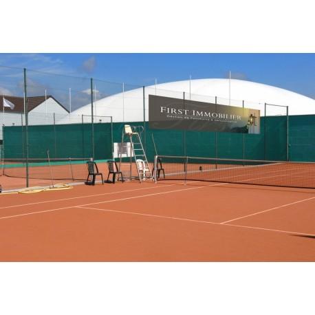 Bache micro-perforée spécial Tennis
