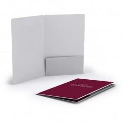 Porte-cartes à volet personnalisé