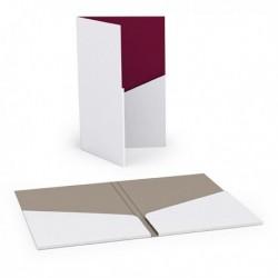 Porte-cartes à 2 volets