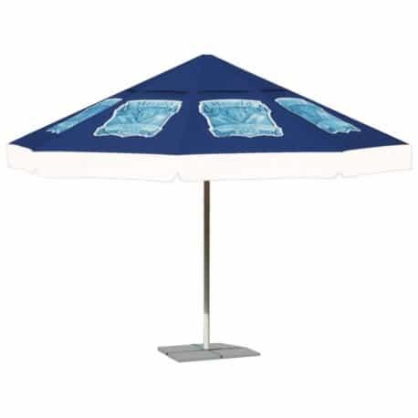 """Parasol publicitaire """"Saint-Méloir"""""""