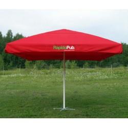 """Parasol publicitaire """"Saint-Cast"""""""