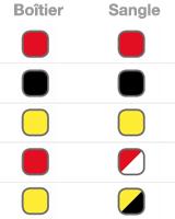 Coloris des barrières enrouleurs