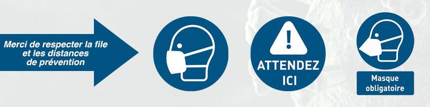Durant cette crise sanitaire du COVID-19, nous vous proposons des éléments pour informer votre personnel et votre clientèle