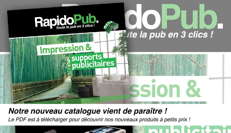 Le catalogue RapidoPub 2019 au format PDF